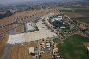 Aeropuerto de Sevilla. Imagen aérea.