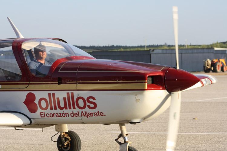 Avion escuela de pilotos sevilla PPL