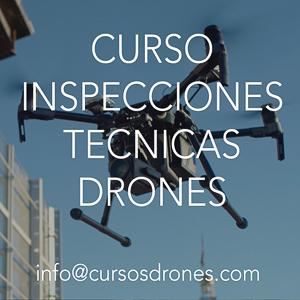 curso inspecciones técnicas drones